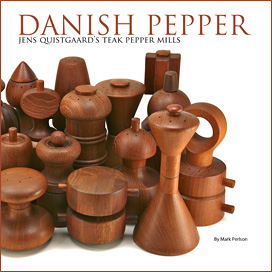 Danish Pepper Book: Jens Quistgaard Dansk Pepper Mills